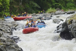 City Tour With River Rafting