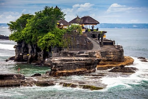 Bali Temples Tour & Sunset View with Duty Free Shopping Trip