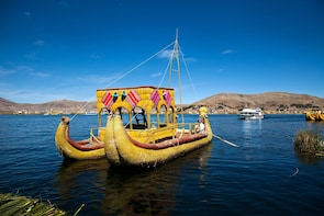 Uros and Taquile Islands in speedboat