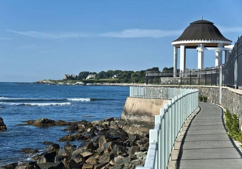 Show item 3 of 10. Newport CLIFF WALK- Self Guided GPS Audio Tour Guide