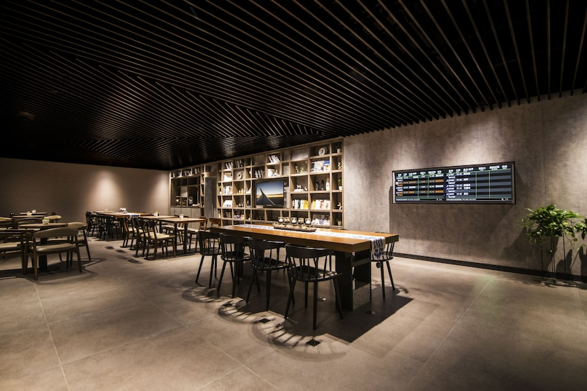 Show item 5 of 5. Library Lounge by Aerotel located at the International Departures in Terminal 2 at Guangzhou Baiyun International Airport