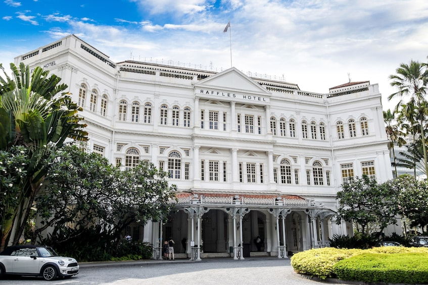Show item 1 of 8. Colonial Singapore with Afternoon Tea at Raffles Hotel