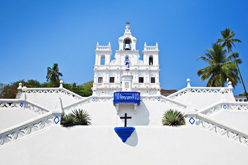 Show item 1 of 7. Private Old Goa Sightseeing Tour: Guide, Lunch & Transport