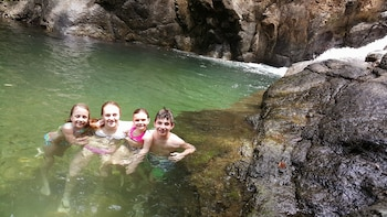 Surf Lessons and Local Waterfall Experience