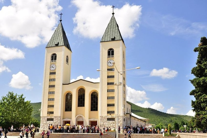 Show item 1 of 1. Private trip to Medjugorje from Zadar