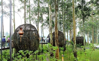Bandung:Bamboo Village with Floating Market & Farm House