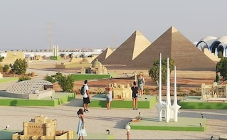 Mini Egypt Park With Shared Transfer