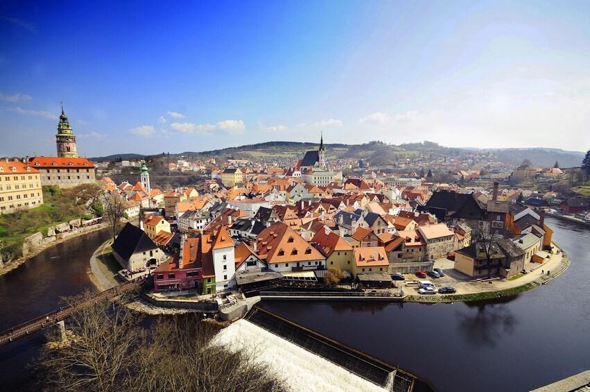 Show item 1 of 9. Cesky Krumlov full-day bus tour from Prague