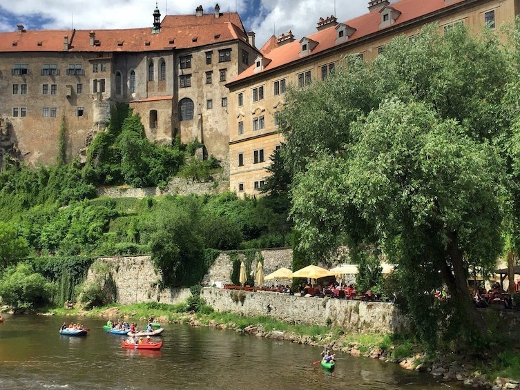Show item 2 of 9. Cesky Krumlov full-day bus tour from Prague