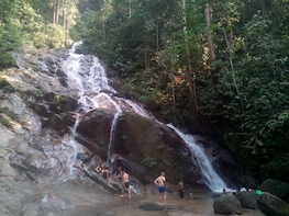 Waterfall In The Rainforest, Batu Caves, Hotspring (Private)