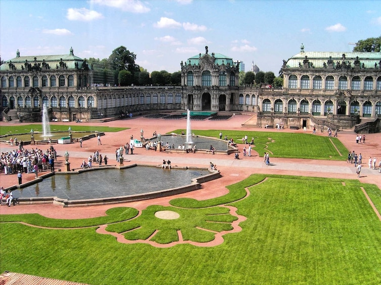 Show item 1 of 5. Dresden and Zwinger Gallery one-day bus tour from Prague