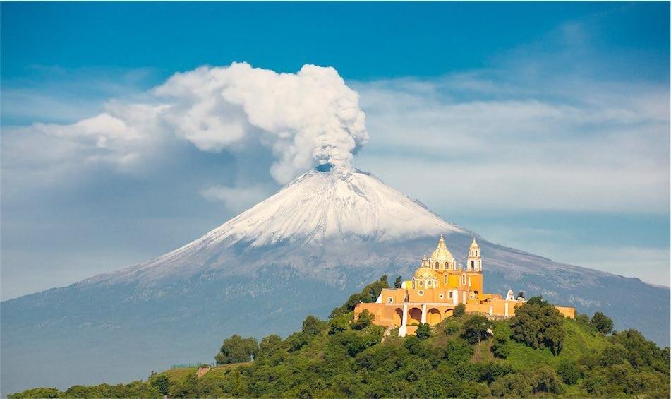 Show item 1 of 8. Mexico: Puebla, Tlaxcala & volcano hiking