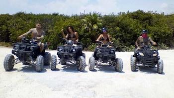 Costa Maya ATV Off Road Adventure and Beach Break Excursion