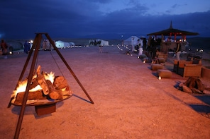 Marrakech to Agafay Desert with Camel & Dinner Show