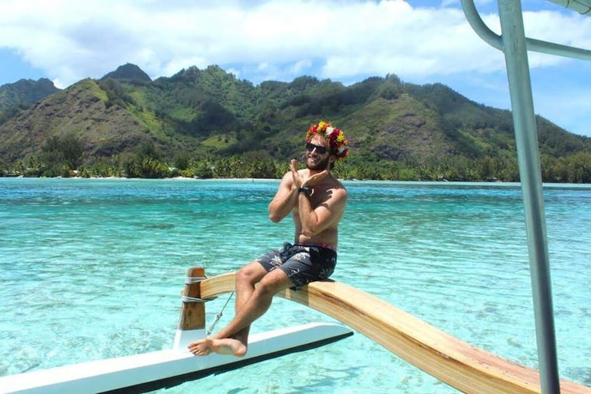 Show item 1 of 10. Moorea Intimate Snorkeling & Water Lunch Tour