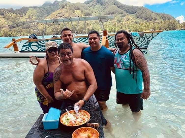 Show item 10 of 10. Moorea Intimate Snorkeling & Water Lunch Tour