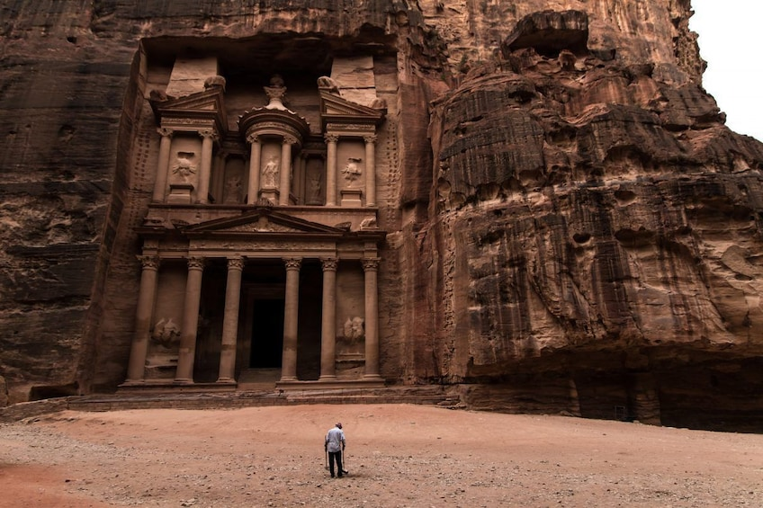 Show item 10 of 10. Experience Petra & Wadi Rum in One Day From Amman