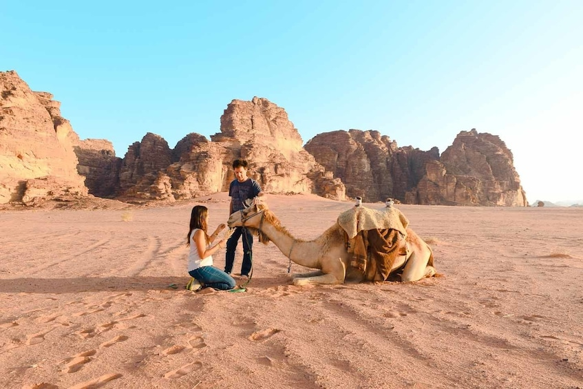 Show item 3 of 10. Experience Petra & Wadi Rum in One Day From Amman