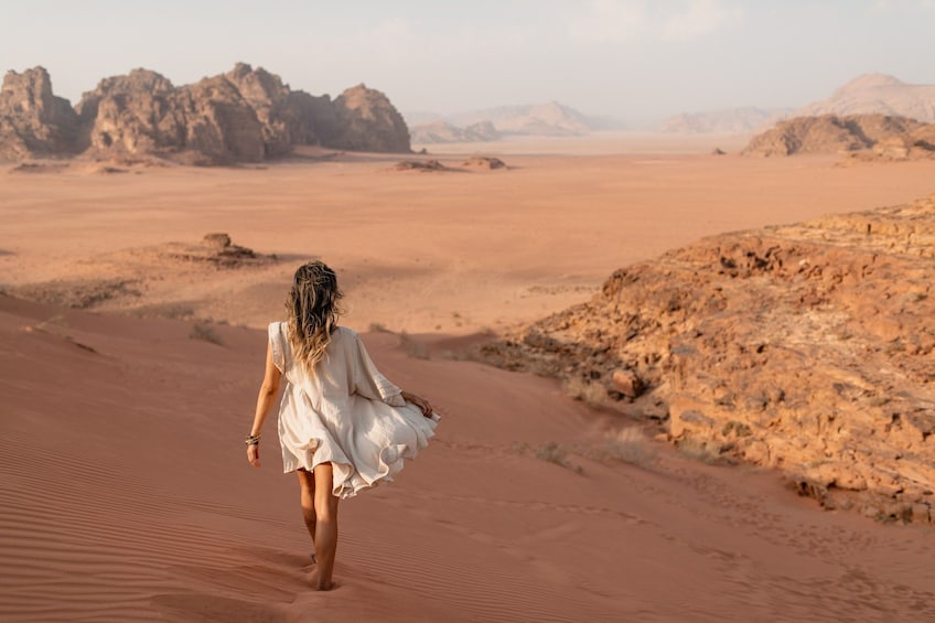 Show item 1 of 10. Experience Petra & Wadi Rum in One Day From Amman