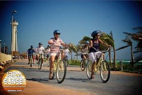 Costa Maya Bike Sightseeing & Ibiza sunset beach break
