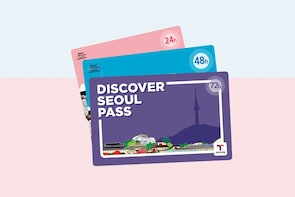 Discover Seoul Pass Card (24/48/72 hours)