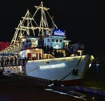 Private Saigon by night at Bitexco & Dinner Cruise