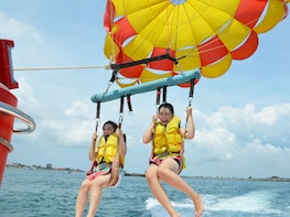 Water sport Benoa Beach & Uluwatu Tour with Handicraft Centre