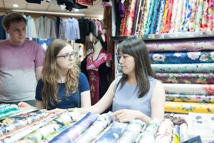Show item 1 of 1. Early Bird Shanghai Street Breakfast &Visit Fabric Market