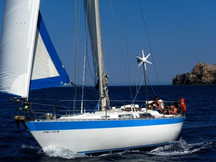 Show item 2 of 4. Exclusive Sailing day in Menorca