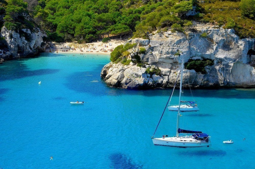Show item 1 of 4. Exclusive Sailing day in Menorca