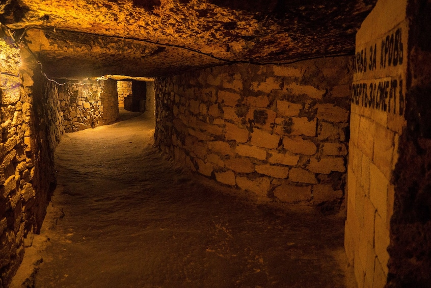 Show item 7 of 7. Private Odessa Catacombs Tour