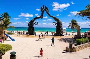 4X1 Tour Plus Coba, Cenote, Tulum & Playa del Carmen