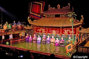 Hanoi Water Puppet Show Tickets