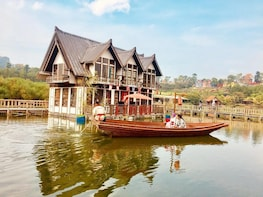 Bandung:Floating Market,Farmhouse & Musical Angklung Show