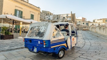 Panoramic Tour of Matera in Ape Calessino