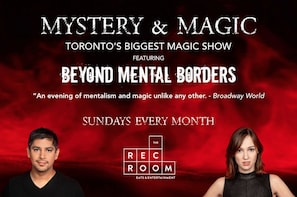 Mystery and Magic mentalism show ticket