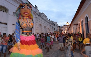 Historic Tour of the city of Alcantra pick up from São Luis