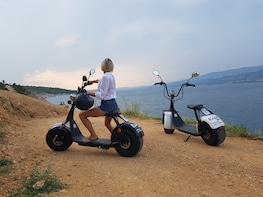 Rent a E-Scooter Chopper 2 seat & Explore Maspalomas 2 Hours