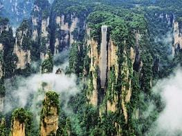 1-Day Zhangjiajie Avatar Mountain and Glass Bridge Tour