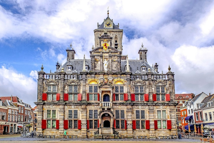 City Hall Building in Delft, Netherlands
