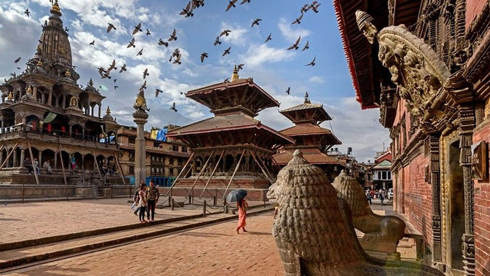 Show item 1 of 10.  Roam around Newari towns Bungmati, Khokana and Patan Durbar