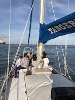 Lisbon Cruise on a Classic Sailboat