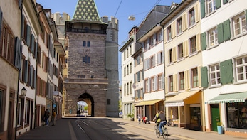 Architectural Walk of Basel with a Local