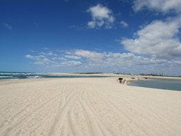 Tour Aguas Belas Beach from Fortaleza