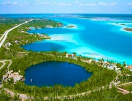 Bacalar Lagoon of Seven Colors