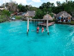 Bacalar Lagoon of Seven Colours Tour