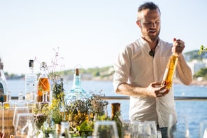 Make Ibiza's most famous liqueur - Hierbas!
