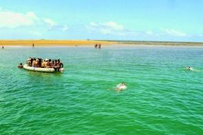 Full Day in Sea Park Coroa Alta from Porto Seguro