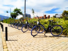 Rent of electric bicycles for 9 hours in Medellin