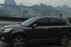 Private car from Pingyao Hotel to Datong Hotel and stops Family Qiao Courty...